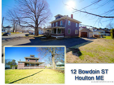 Houlton Single Family Home For Sale: 12 Bowdoin Street