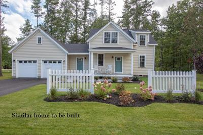 Wells Single Family Home For Sale: Lot 9 Camerons Lane