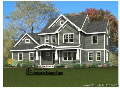 Kittery Single Family Home For Sale: 11 Milliken Cove