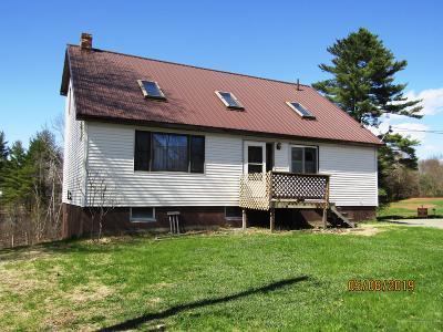Milo Single Family Home For Sale: 15 Maple Street