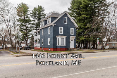 Portland Multi Family Home For Sale: 1446 Forest Avenue
