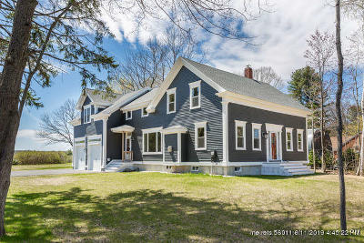Saco Single Family Home Pending Continue To Show: 3 & 5 Cocktail Cove