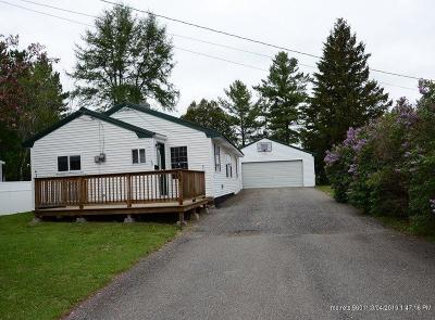 Presque Isle ME Single Family Home For Sale: $80,000