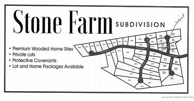 Residential Lots & Land For Sale: Lot 33 Stone Farm Drive