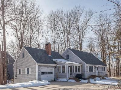 Kennebunkport Single Family Home For Sale: 43 School Street