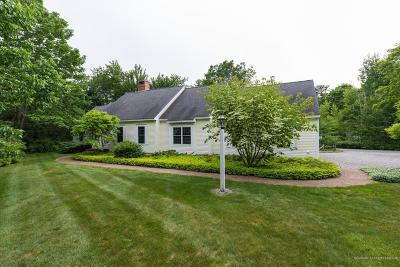 Kennebunkport Single Family Home For Sale: 57 Wildes District Road