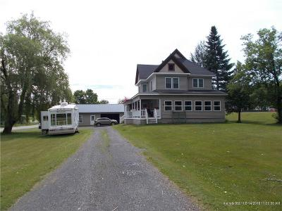 Fort Fairfield Single Family Home For Sale: 57 Presque Isle Street
