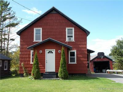 Presque Isle ME Single Family Home For Sale: $64,999
