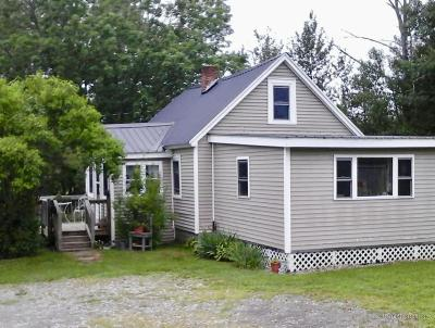 Presque Isle ME Single Family Home For Sale: $49,500