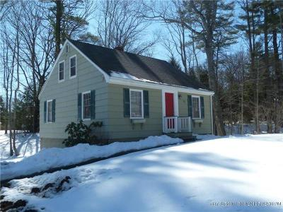 Falmouth Single Family Home For Sale: 73 Middle Road