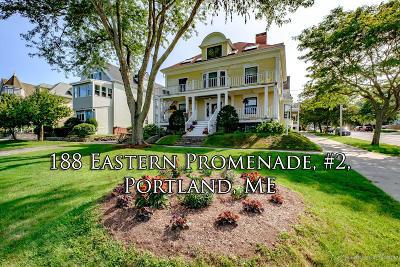 Portland Condo For Sale: 188 Eastern Promenade #2