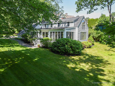 Ogunquit Single Family Home For Sale: 401 Shore Road