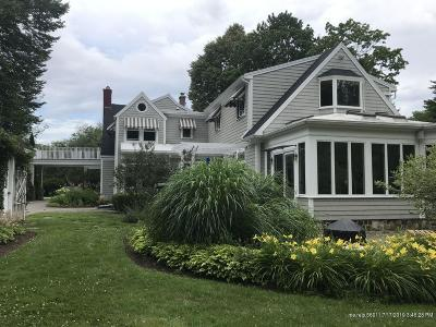 Kennebunkport Single Family Home For Sale: 71 North Street