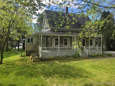 Kennebunkport Single Family Home For Sale: 163 Wildes District Road