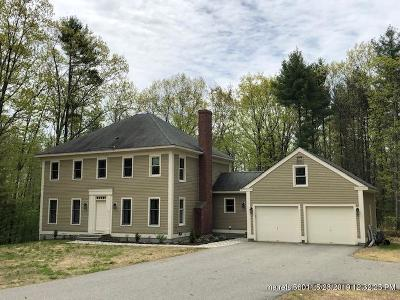 Wells Single Family Home For Sale: 376 Hobbs Farm Road