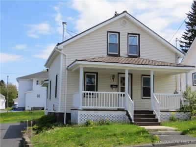 Madawaska Single Family Home For Sale: 128 12th Avenue