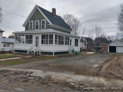 Houlton ME Single Family Home For Sale: $27,500