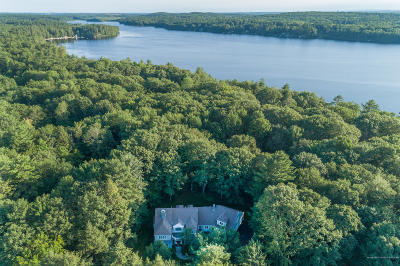 Falmouth Single Family Home For Sale: 47 Lakeside Drive