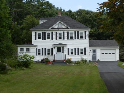 Kennebunkport Single Family Home For Sale: 18 Wildes District Road