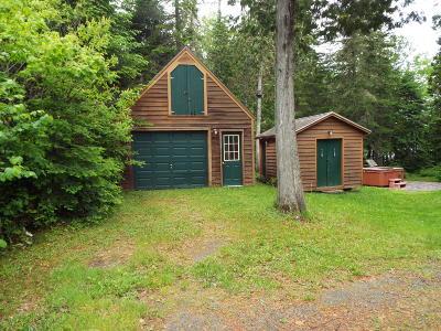 Single Family Home For Sale: 451 Little Madawaska Lake Road