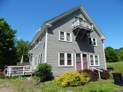 Multi Family Home For Sale: 516 Brewer Lake Road
