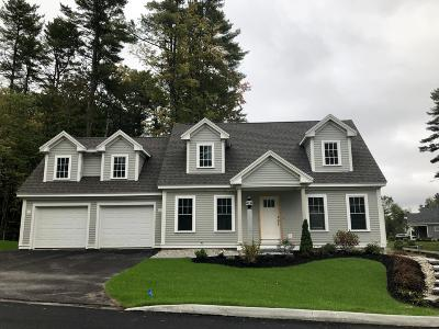 Cumberland Single Family Home For Sale: 5 Brackett, Lot 58 Lane