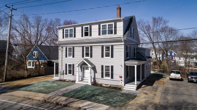 Kittery Single Family Home For Sale: 16 Newmarch Street