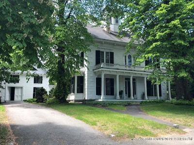 Kennebunk Single Family Home For Sale: 37 Summer Street