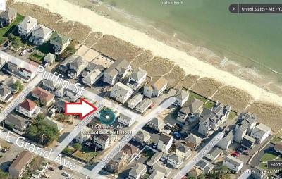 Old Orchard Beach Single Family Home For Sale: 1 Graham Street