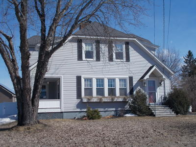 Fort Fairfield Single Family Home For Sale: 17 Elm Street