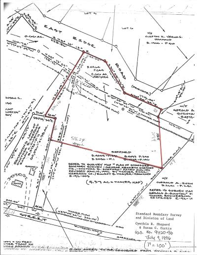 Residential Lots & Land For Sale: East Ridge Road Road