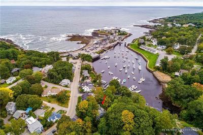 Ogunquit Single Family Home For Sale: 22 Perkins Cove Road