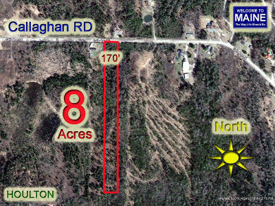 Houlton Residential Lots & Land For Sale: Lot 8 Callaghan Road
