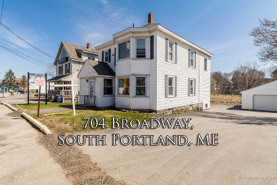 South Portland Multi Family Home For Sale: 704 Broadway