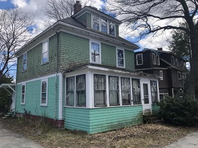 Brewer Multi Family Home For Sale: 25 & 27 Prospect Street
