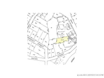 Milo Residential Lots & Land For Sale: Garden Way