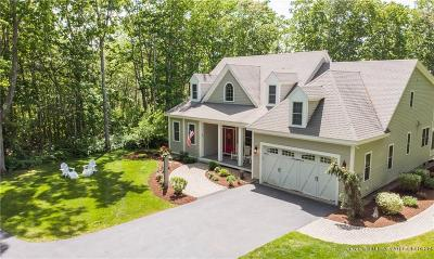Kennebunkport Single Family Home For Sale: 21 Community House (Grb) Road