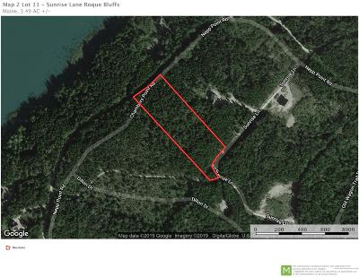 Residential Lots & Land For Sale: Sunrise Lane