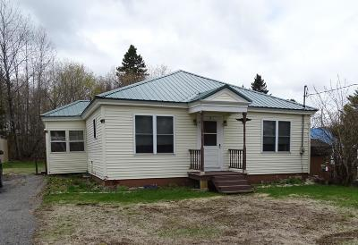 Caribou Single Family Home For Sale: 5 Lafayette Street