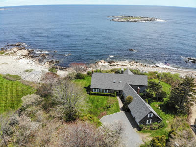 Kennebunkport Single Family Home For Sale: 21 Seaview Avenue