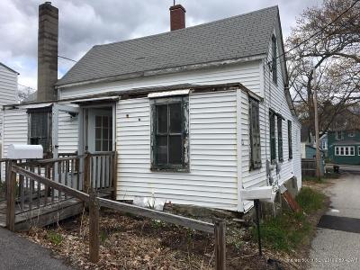 Old Orchard Beach Single Family Home For Sale: 22 8th Street