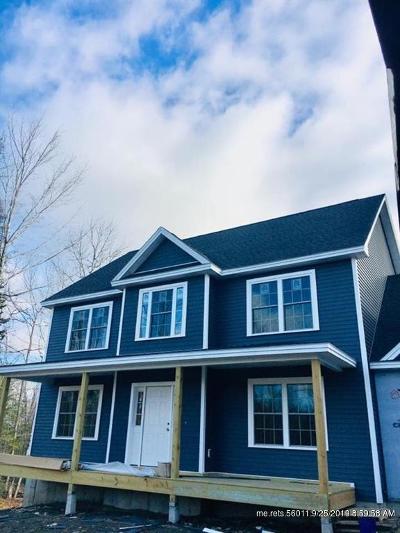 Hampden Single Family Home For Sale: Lot 45 Dunton (Hawthorne Ridge) Circle
