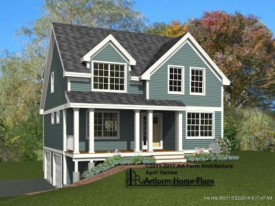 Kittery Single Family Home For Sale: Lot 62-24B Shaydon Lane
