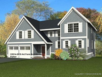 Wells Single Family Home For Sale: Lot #9 Forest Glen At Hobbs Pond
