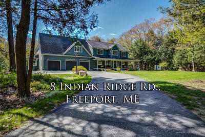 Freeport Single Family Home For Sale: 8 Indian Ridge Road