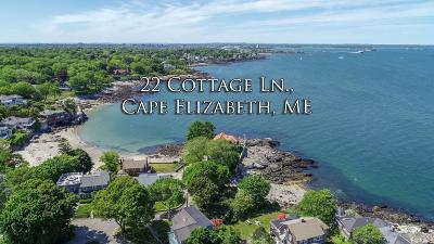 Cape Elizabeth Single Family Home For Sale: 22 Cottage Lane