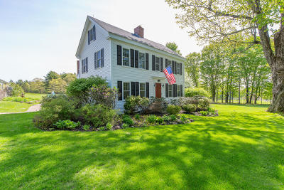 Cumberland Single Family Home For Sale: 259 Blanchard Road