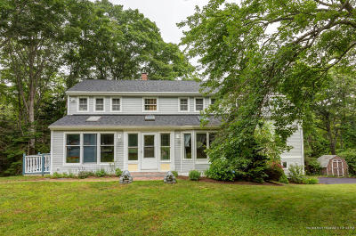 Cape Elizabeth Single Family Home For Sale: 22 Beacon Lane