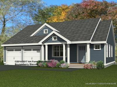 Wells Single Family Home For Sale: Lot #1 Forest Glen At Hobbs Pond