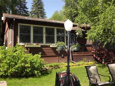 Portage Lake Single Family Home For Sale: 522 West Road